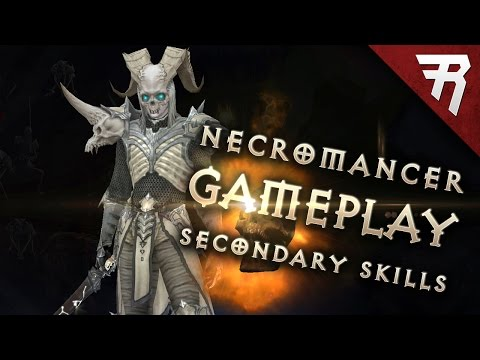 Necromancer Skills - Part 2 (Diablo 3 2.6 beta gameplay)