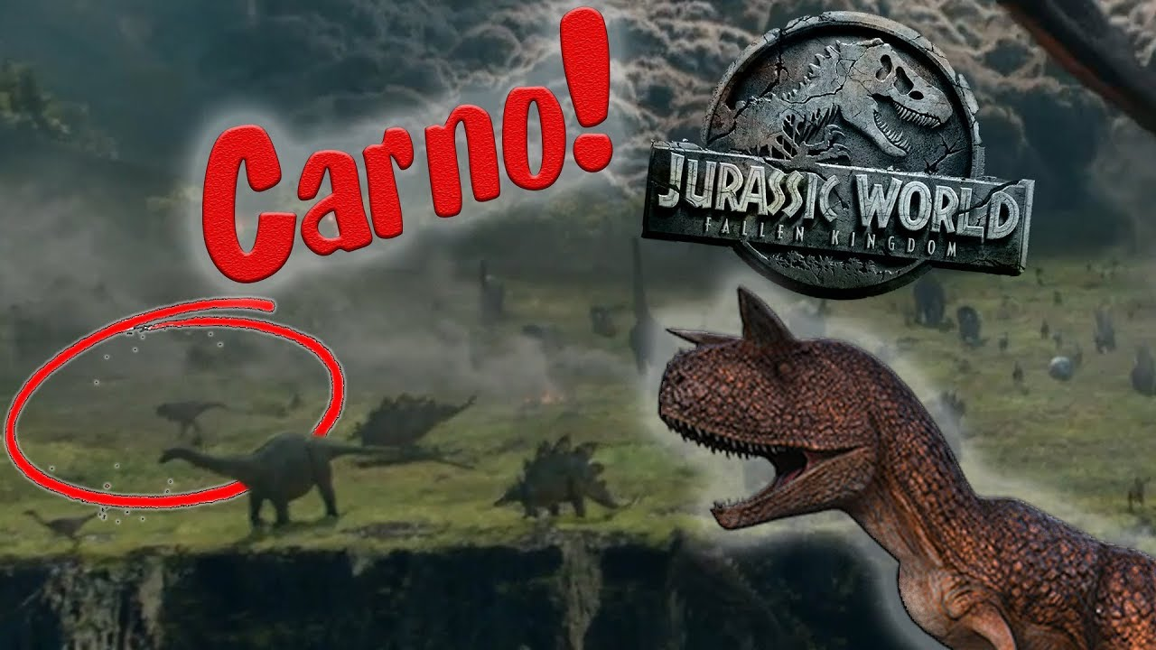 Carnotaurus Pack Sighting Jurassic World Fallen Kingdom