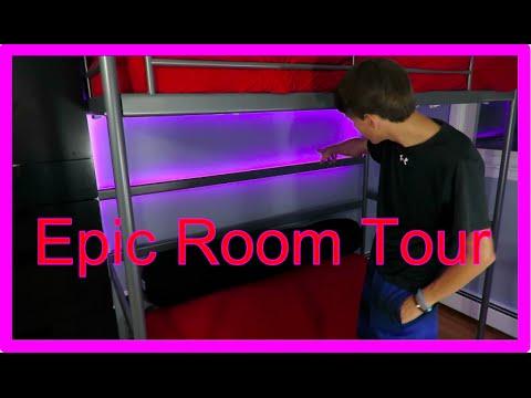 Epic Room Tour with loft!!!