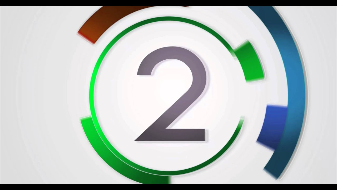 10 sec countdown timer v 280 news theme circle clock. Black Bedroom Furniture Sets. Home Design Ideas