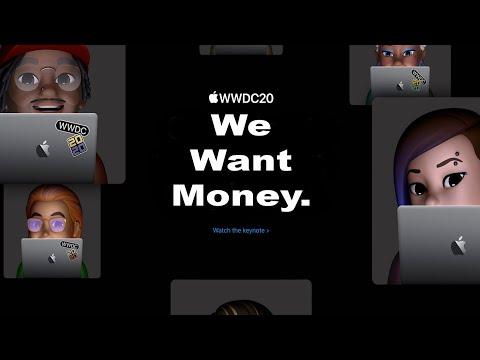 Apple WWDC 2020 Parody (Picture in picture IOS 14 iPadOS handwriting WatchOS MacOS Big Sur app clip)