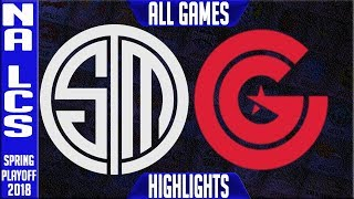 Video TSM vs CG Playoffs Highlights ALL GAMES | NA LCS Quarterfinals Spring Team Solomid vs Clutch Gaming download MP3, 3GP, MP4, WEBM, AVI, FLV Juni 2018