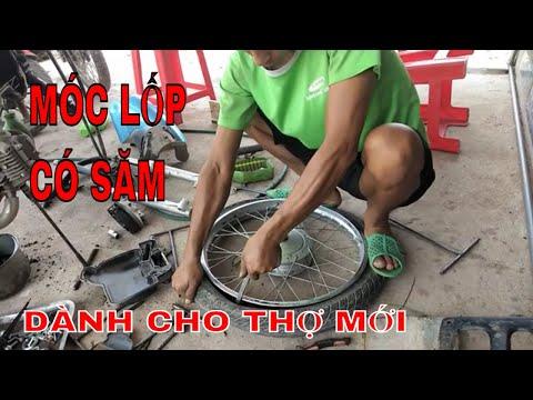 Cách Móc Lốp Xe Máy Kỹ Thuật Giành Cho Anh Em Thợ Mới