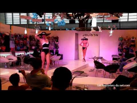 Défilé au salon Mode-City de la société JOLIDON