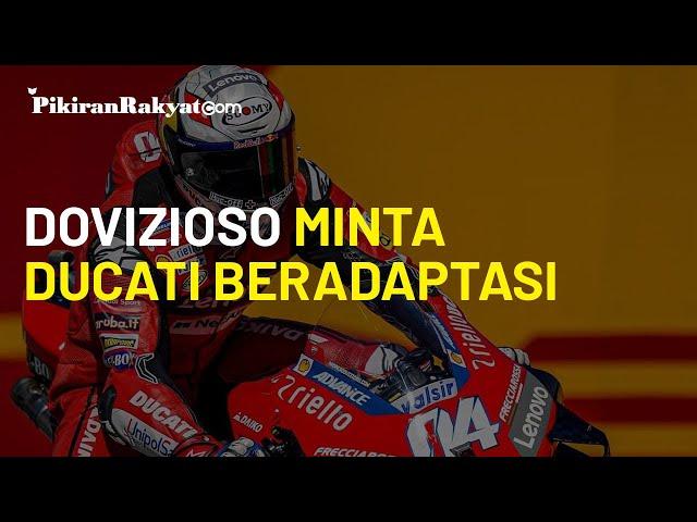 MotoGP Catalunya 2020: Andrea Dovizioso Minta Tim Ducati Cepat Beradaptasi