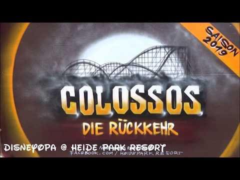 Heide Park Colossos Baustelle Bauarbeiten AKTUELL April 2018 DisneyOpa