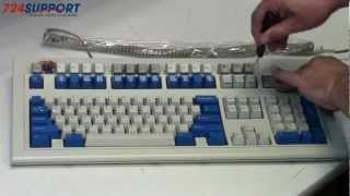 Unicomp Buckling Spring Keyboard Unboxing and Mod