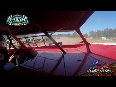 #14 Patrick Wall - 602 Sportsman - 9-22-19 East Alabama Motor Speedway - In-Car Camera