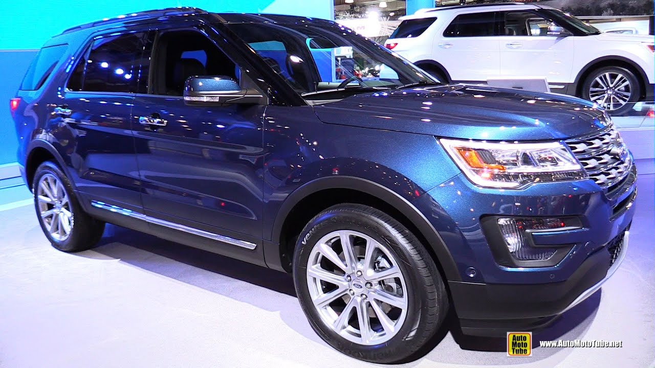 2016 ford explorer limited 4wd exterior and interior. Black Bedroom Furniture Sets. Home Design Ideas