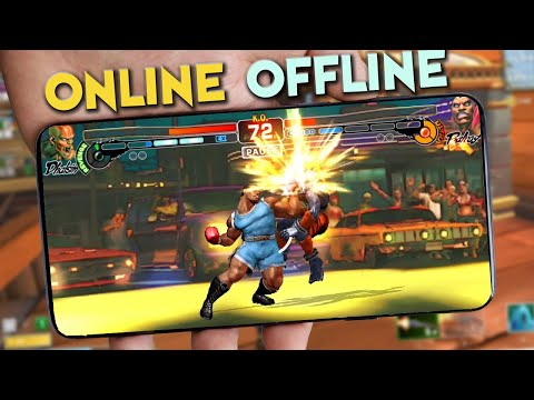 Top 10 Best Online/Offline Fighting Games On Android - IOS