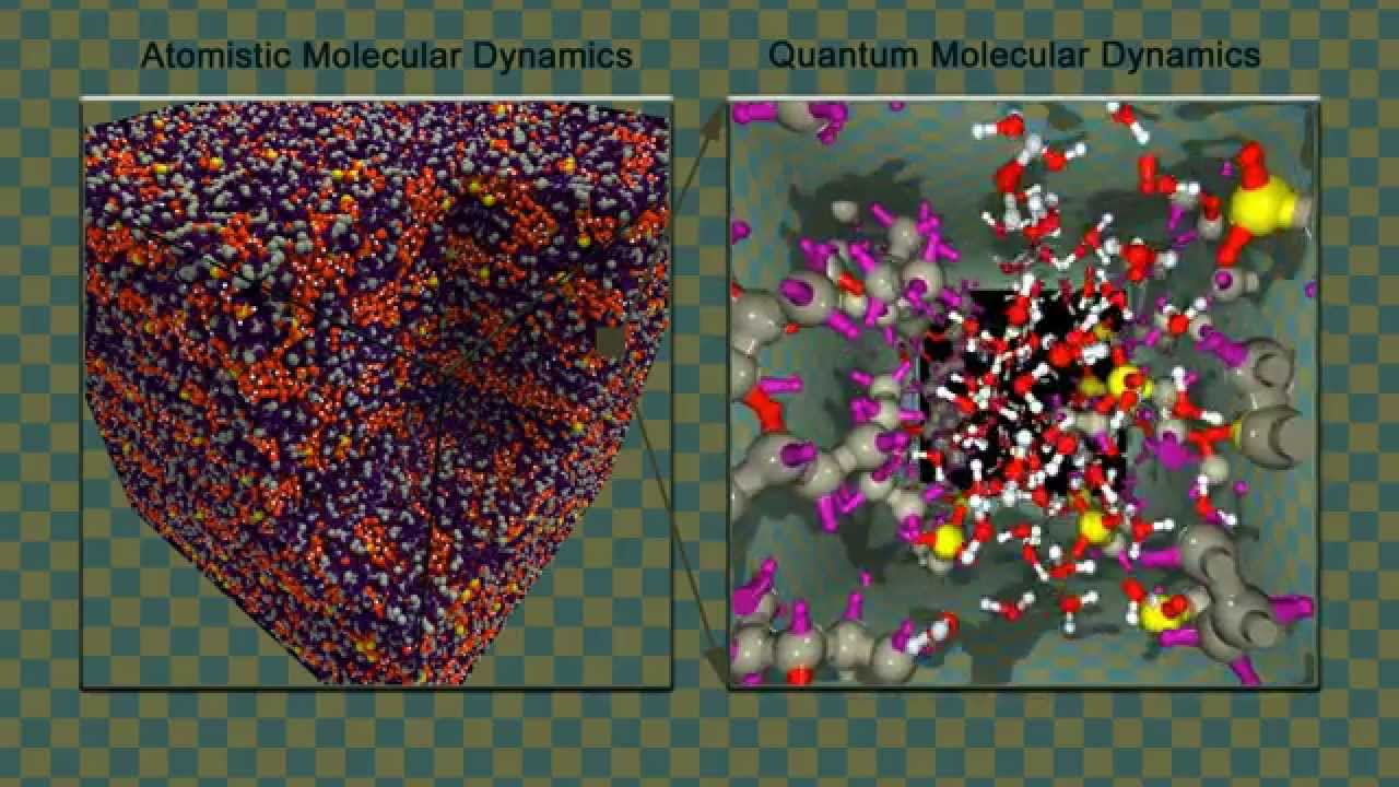 Nanochannel in Nafion membrane (choose HD 1080p quality)