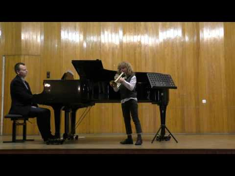 Proclamation and serenade by Robert Getchell (Trumpet). Performed by Jasio Szutta.
