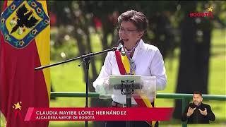 Claudia López: discurso de posesión de la nueva alcadesa