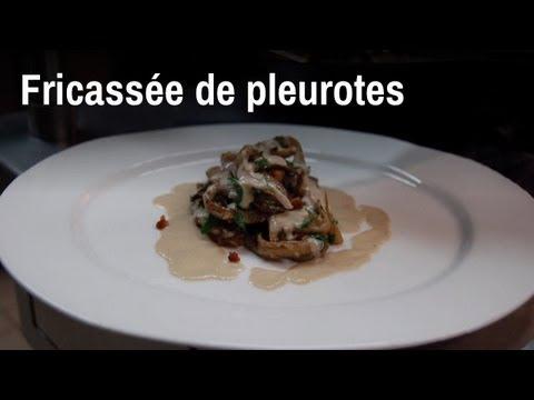 Recette De Chef Fricassée De Pleurotes YouTube - Comment cuisiner les pleurotes