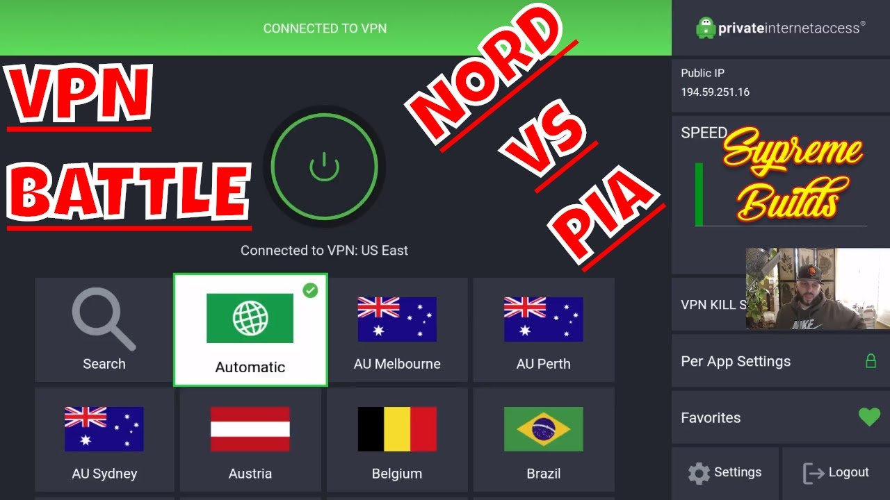Wednesday Morning VPN Showdown
