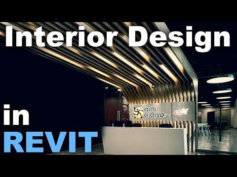 Interior Design in Revit Tutorial * Wood frameing with light *