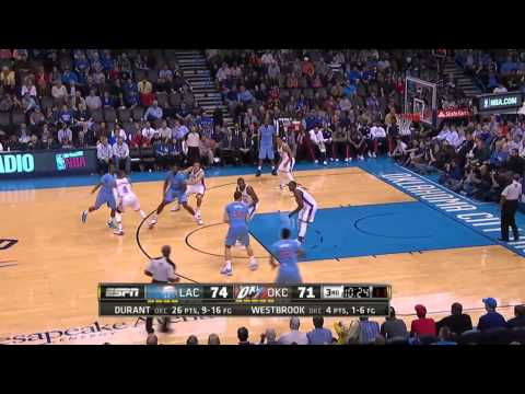 Los Angeles Clippers vs Oklahoma City Thunder | February 23, 2014 | NBA 2013-14 Season