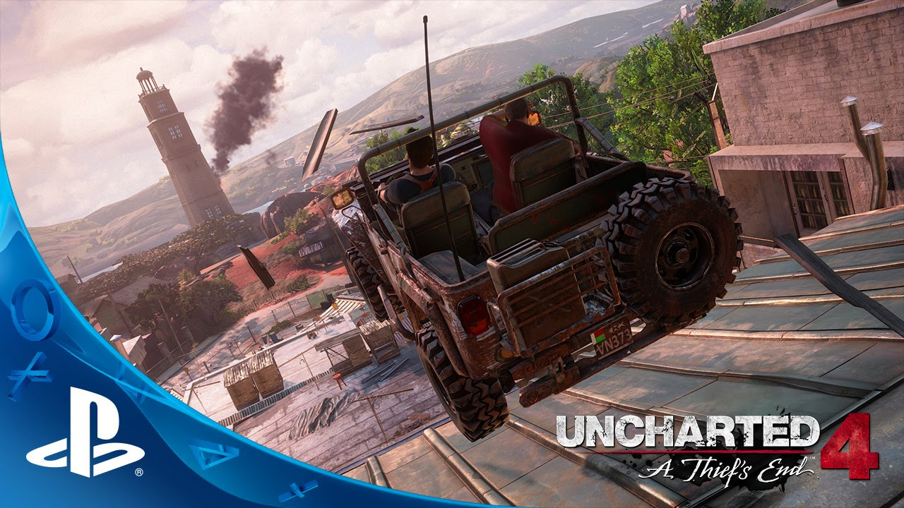 UNCHARTED 4: A Thief's End - E3 2015 Press Conference Demo | PS4