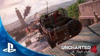 UNCHARTED 4: A Thief's End - E3 2015 Press Conference Demo | PS4 thumbnail