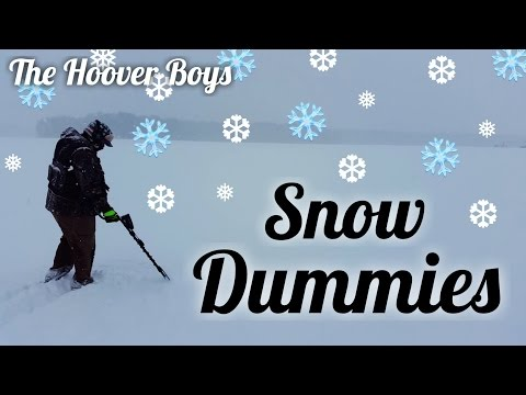 metal-detecting-a-blizzard-&-15-silvers-|-snow-dummies