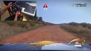 WRC 7 - Onboard + Wheel cam!! - Ford Fiesta WRC - Rally Spain - Gameplay