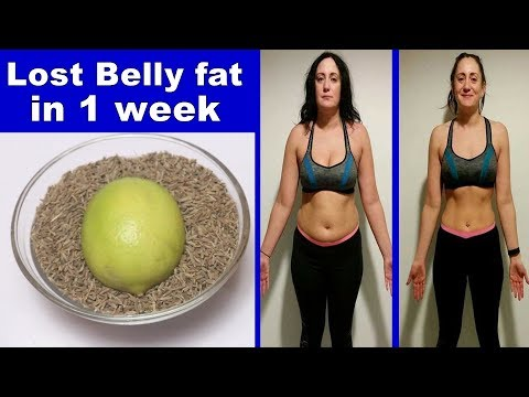 Lost Belly Fat In 1 Week With This 1 Ingredient Cumin Seeds Water ! Loss Weight Overnight!