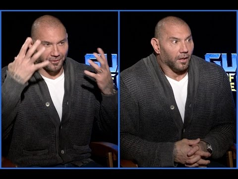 Dave Bautista on being socially awkward, shy and his crazy makeup removal technique