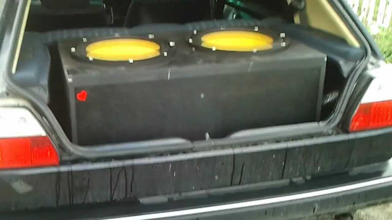 Volkswagen Golf R >> Audio System Radion 15 plus on Vw Golf Mk2 - YouTube