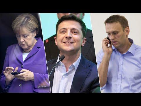 От Навального — до Меркель: кто поздравил Зеленского с победой?