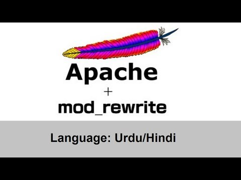 What is .htaccess and How to Use mod_rewrite Module  PHP Urdu/Hindi
