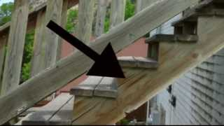 Apply Treatment or Paint Exterior Wood Stairways - Wood Damage Prevention