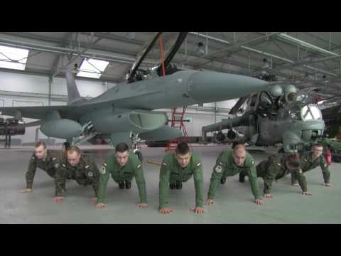 Polish Air Force Academy - 22 Pushup Challange (WSOSP)