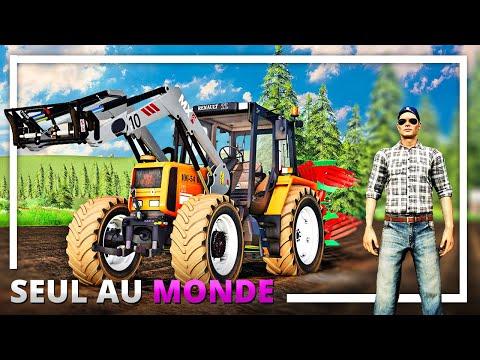 Hériter d'une FERME !   SEUL AU MONDE #01 ! (Farming Simulator 19)