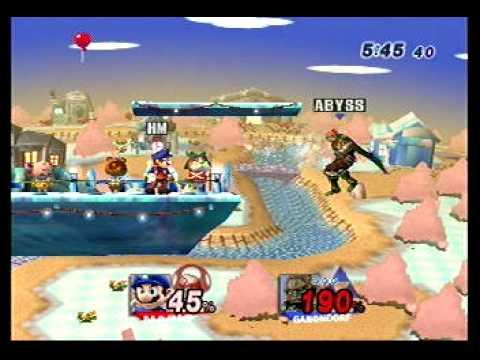 Abyss (Ganon) vs. HeroMystic (Mario) 1