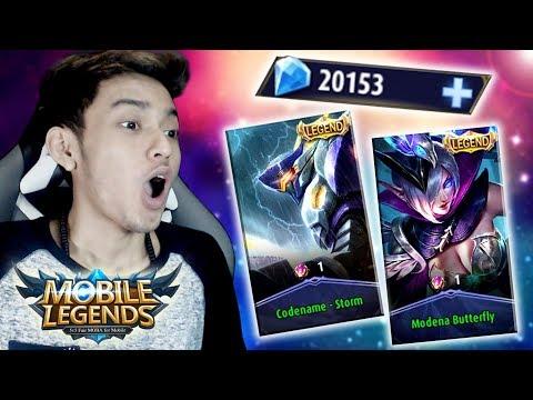20.000 DIAMONDS BUAT MAGIC WHEEL SKIN LEGEND !! - Mobile Legends Indonesia