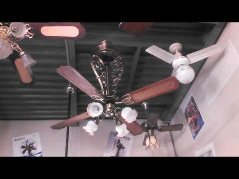 "UPDATED Casablanca ""Long Scroll"" New Orleans Ceiling Fan model CB-7444"