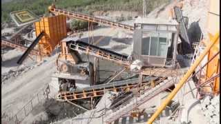 General makina Fethiye konkasör tesisi 350 T/s Krom madeni