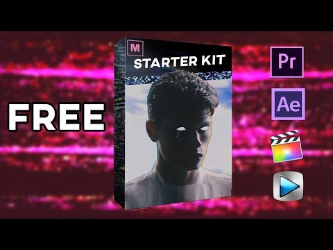 FREE Video Editor STARTER PACK! (Preset Effects, Green Screen Clips, Overlays)