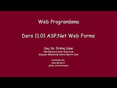 WP 11.01 ASP.Net Web Forms