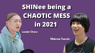 SHINee being a mess in 2021 for 9 minutes straight