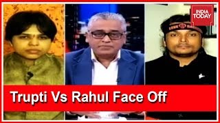 Trupti Desai Vs Rahul Easwar Face Off Over Sabarimala Women Entry   News Today With Rajdeep