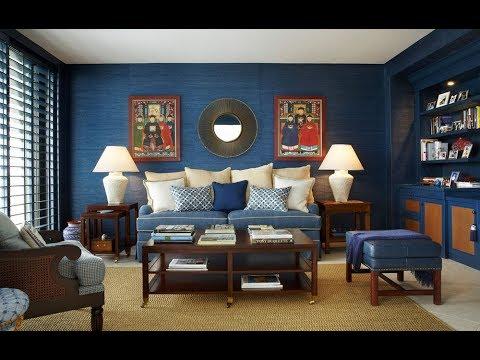 Blue Living Room Ideas | Modern Small Living Room Design Ideas 2019 (AK)