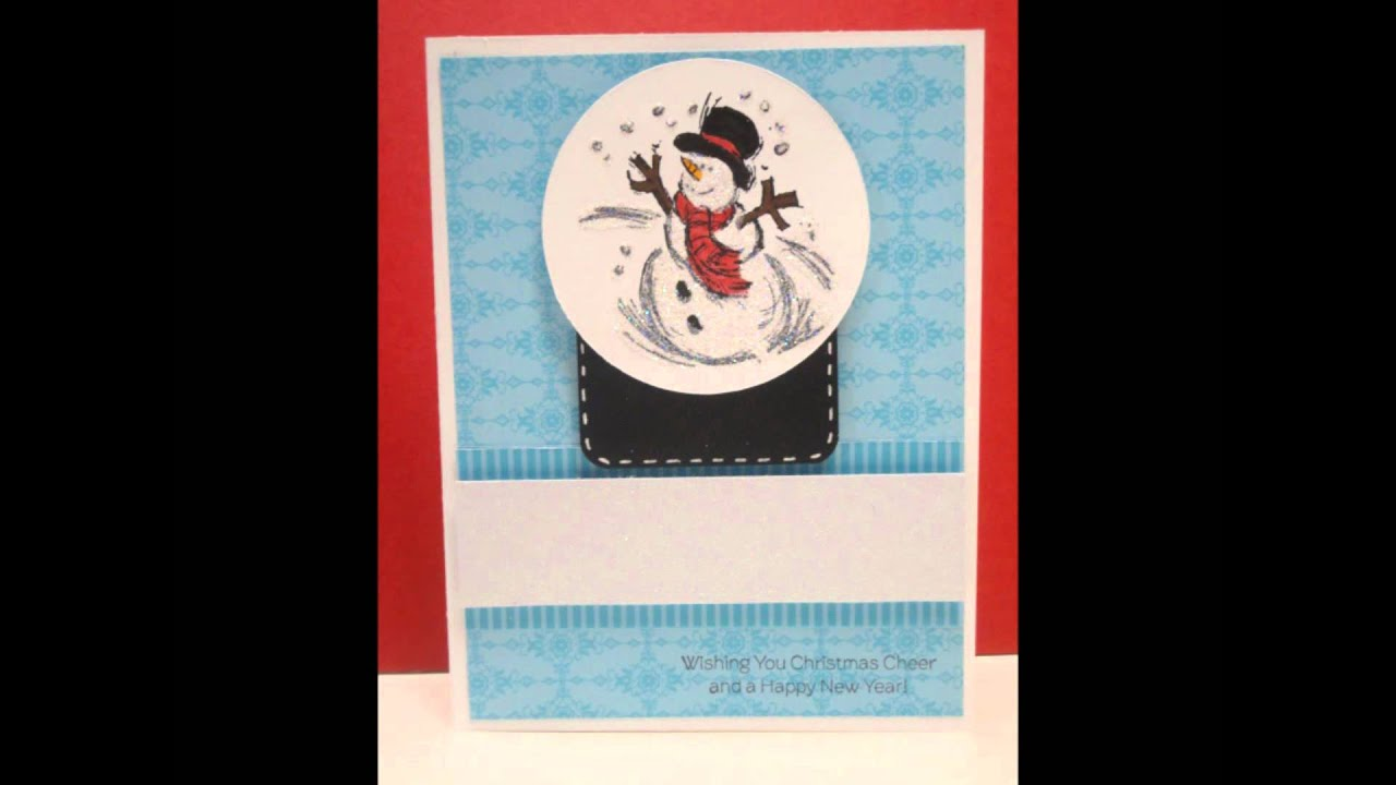 2011 Stampin Up Christmas Cards YouTube