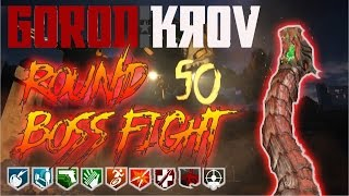 gorod krovi round 50 boss fight attempt black ops 3 zombies road to 900 subs