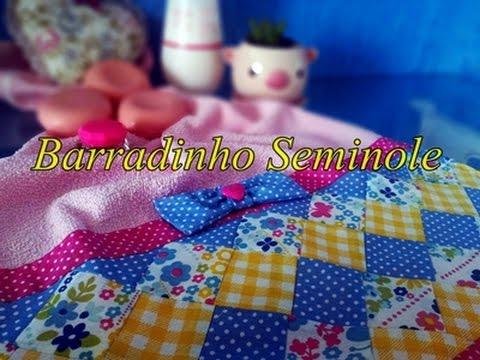 Patchwork Seminole - Barradinho