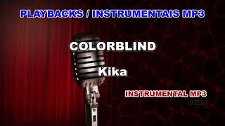 ♬ Playback / Instrumental Mp3 - COLORBLIND - Kika