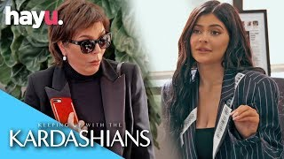 Kylie Jenner Can't Work With Kris Jenner Around | Season 16 | Keeping Up With The Kardashians