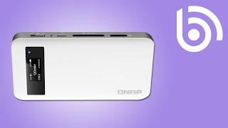 QNAP QG-103N WiFi USB Hard Drive Introduction