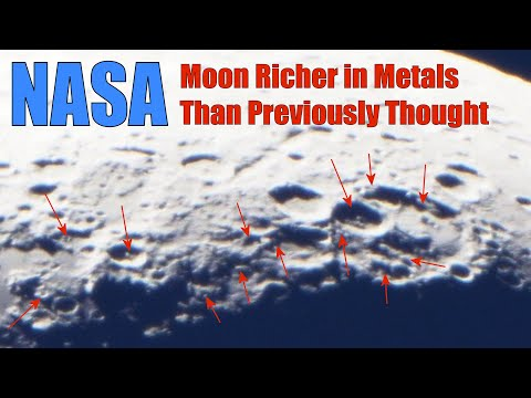 NASA Moon Richer In Metals Than Previously Thought