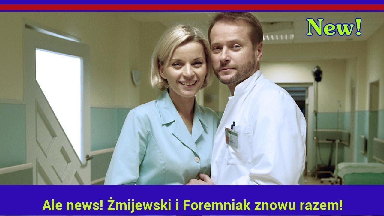 Ale news! Żmijewski i Foremniak znowu razem!